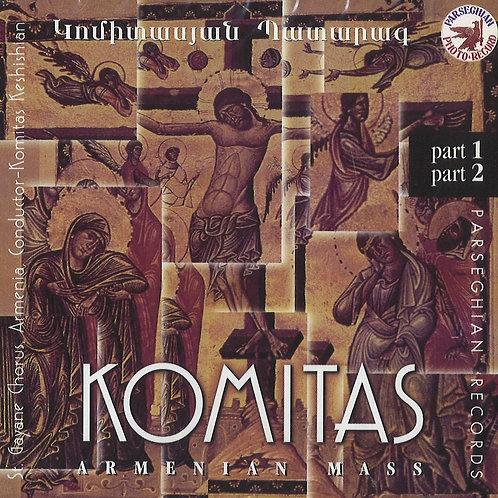 CD - Կոմիտասեան Պատարագ - Komitas Armenian Mass