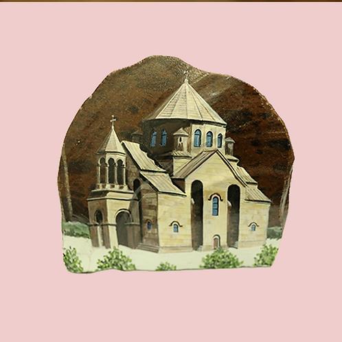 Armenia St. Hripsime Church Obsidian