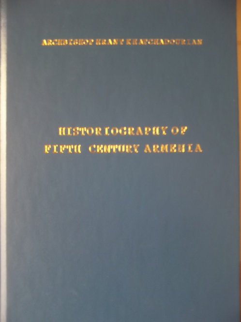 Historiography of Fifth Century Armenia