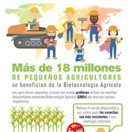 ¿Cómo se benefician los agricultores de la biotecnología agrícola?
