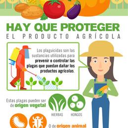 Hay que proteger el producto agrícola