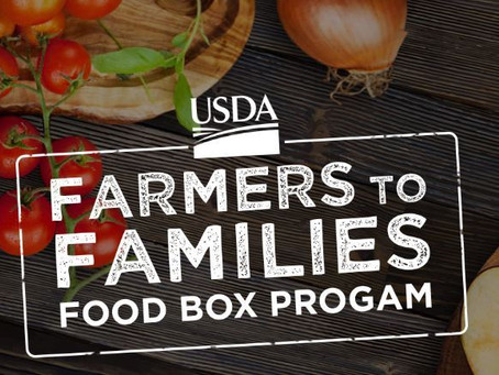 Farmers to Families: October 29