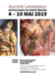 Affiche mythologies corps feminin untitl
