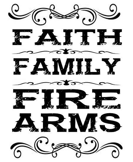 Faith, Family, Firearms Shirt