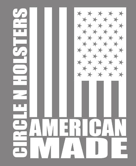 American Made Vinyl Decal