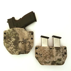 Kydex OWB Holster with Mag Carrier