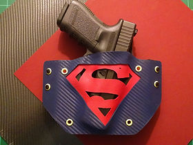 Kydex Superman Holster for Glock