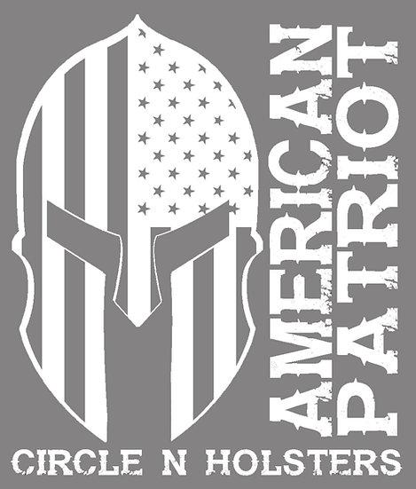 American Patriot Vinyl Decal