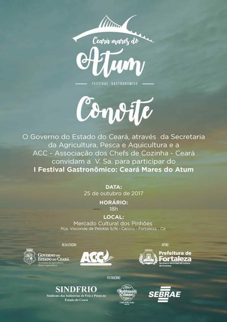 I Festival Gastronômico: Ceará Mares do Atum