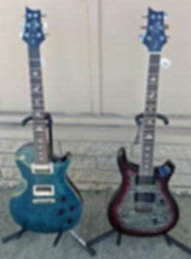 Two PRS Guitars
