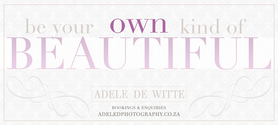 AdeleDphotography Contemporary Glamour banner
