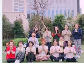 ・ヨガフェスタ阪急 「秋の朝ヨガ」クラス