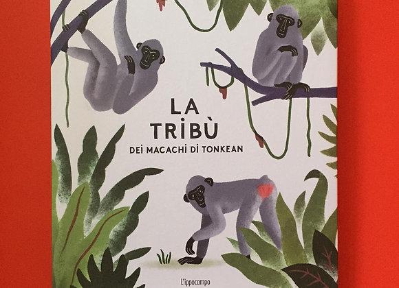 La tribù dei macachi di Tonkean, Julie Escoriza, L'Ippocampo 2020