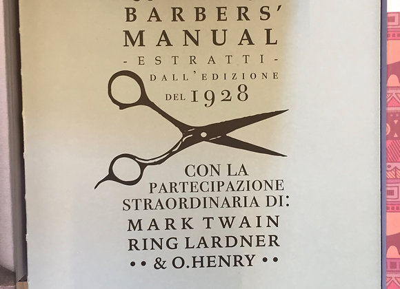 The barber's manual