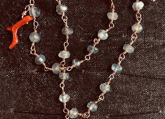 Collana rosario con origami