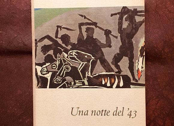 Una notte del '43, Giorgio Bassani, Einaudi 1960