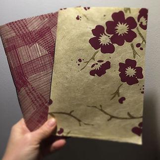 Quaderni fatti a mano con carta nepalese