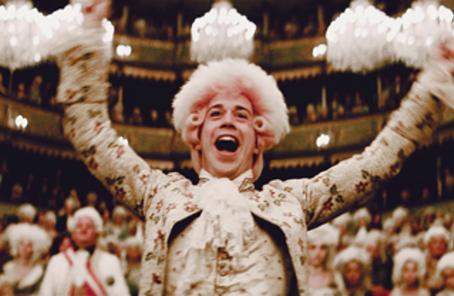 Mozart, ce gros con: Amadeus de Milos Forman, 1984