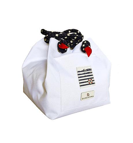 Balaton Cube táska - fehér
