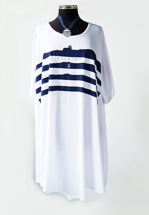 Lelle ruha fehér