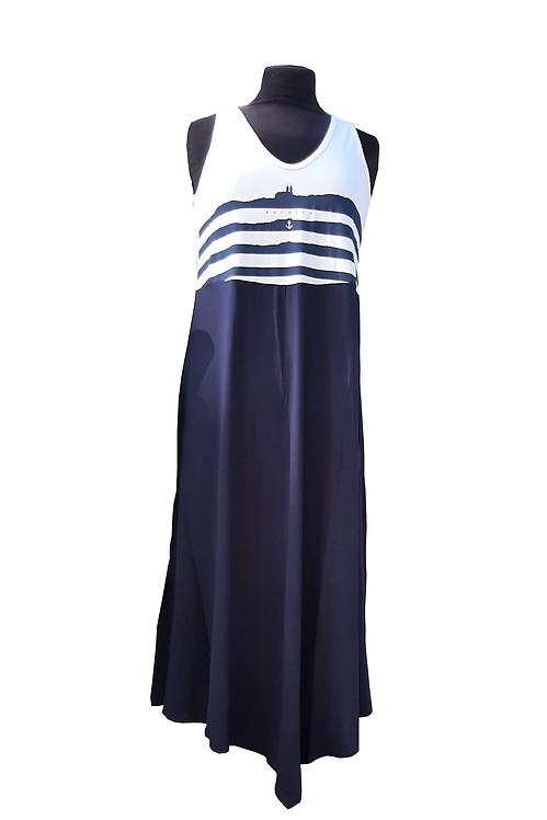 Swan ruha - kék, fehér