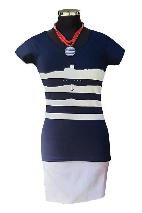 Balaton Navy Collection Női Póló - Kék