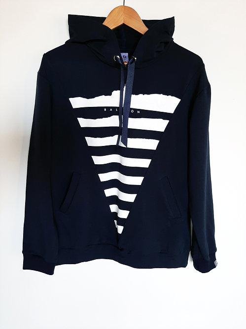 Balaton hoodie navy blue
