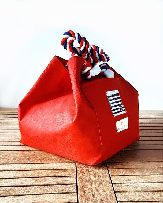 Balaton Cube táska - piros