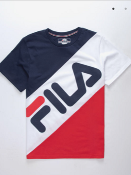 FILA Banner Striped T-Shirt