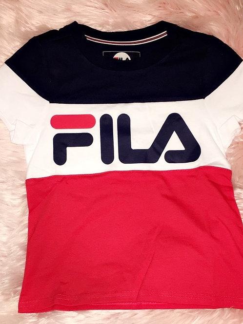 FILA Crew Ringer T-Shirt