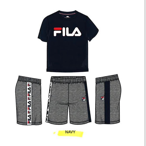 Toddler FILA Logo Short Set