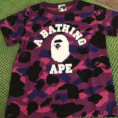 Purple BAPE Shirt