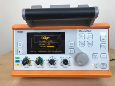 DRAEGER Oxylog 3000 Transport Ventilator