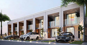 30 Units of 2 storey modern terraced homes located at  East Legon-School Junction