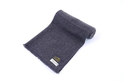 zentopia經典100%喀什米爾圍巾原色窄版流蘇BQCASF12404-2.
