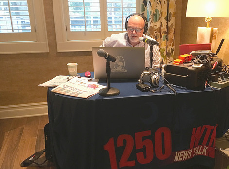 Broadcasting Live: fundraiser for Fisher House Charleston.