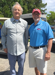 Golfing with Bill Murray