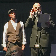 As the Radio Announcer - The Four Freedoms Musical