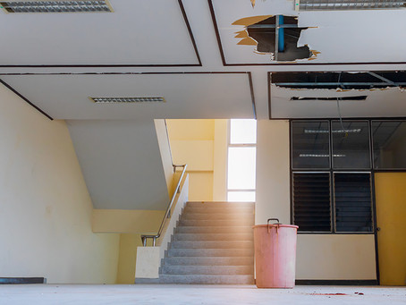 Water in a Building Isn't Always From a Roof Leak
