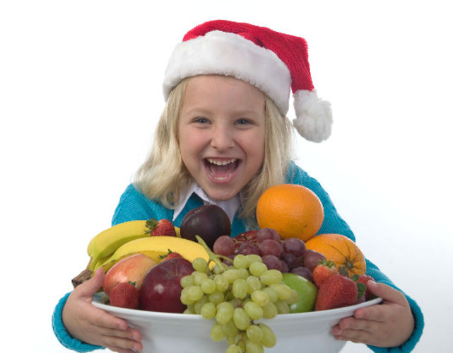 healthy Christmas foods for children