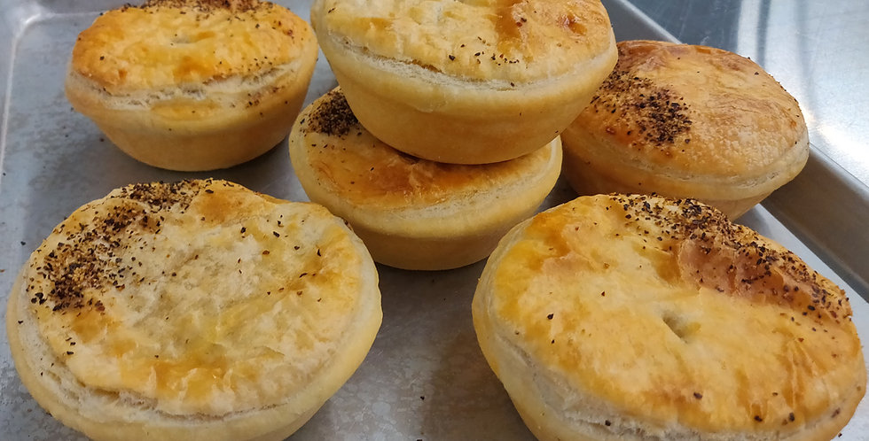 Steak and Pepper Pies