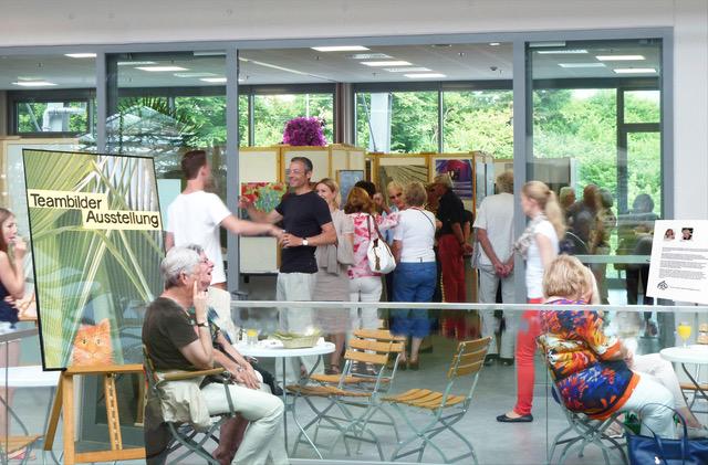 Ausstellung Garten-Center Meier