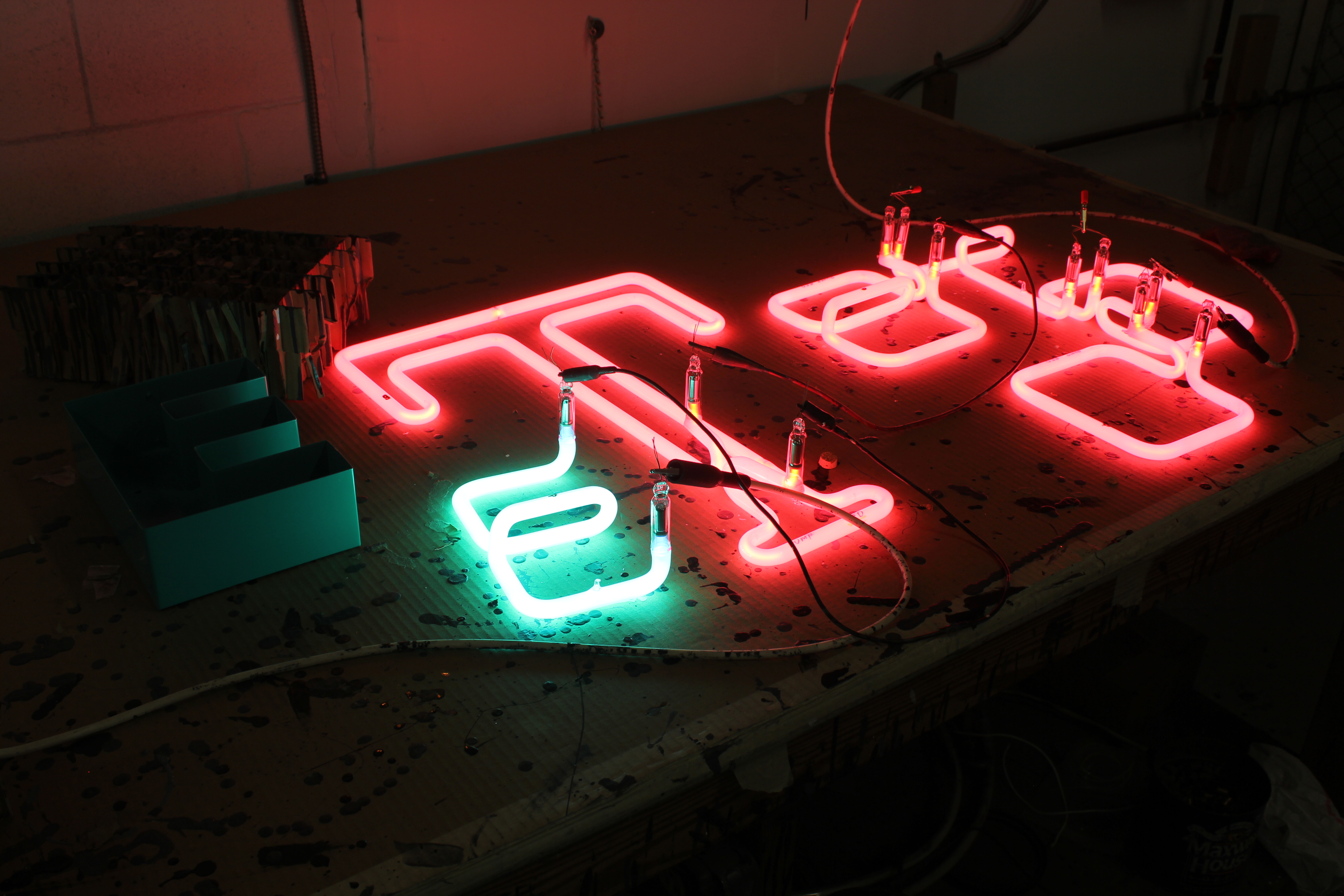 Manufacturing New Neon
