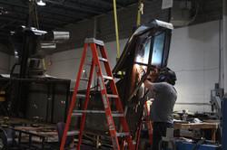 Reinforcing Original Steel Structure