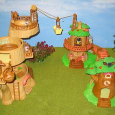 Baby Tree Play Park with Baby Tree Clock and Nusery Tree House