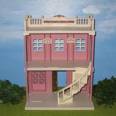 18. Delicious Restaurant Pink Building