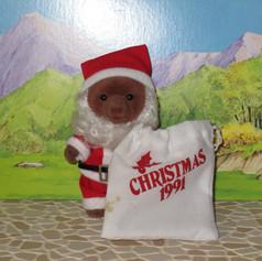 UK Tomy Brown Christmas Bear