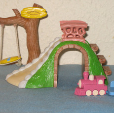 Baby Slide and Hill