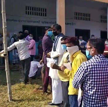 बिहार चुनाव- दूसरे चरण में 54.15 फीसदी  मतदान
