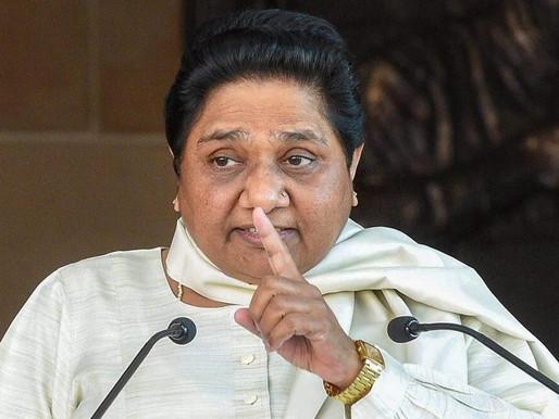सपा को हराने को बीजेपी को भी दे सकते हैं वोट- मायावती